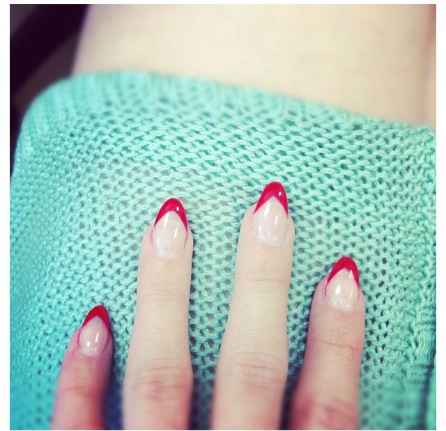 Nails, Lana Del Rey, pin up style | Nails | Pinterest | Manicuras ...