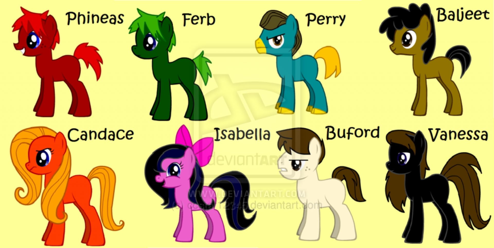phineas and ferb ponified ponified pinterest