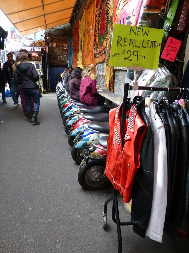 Camden Market, London Leather, Real leather, Golf bags