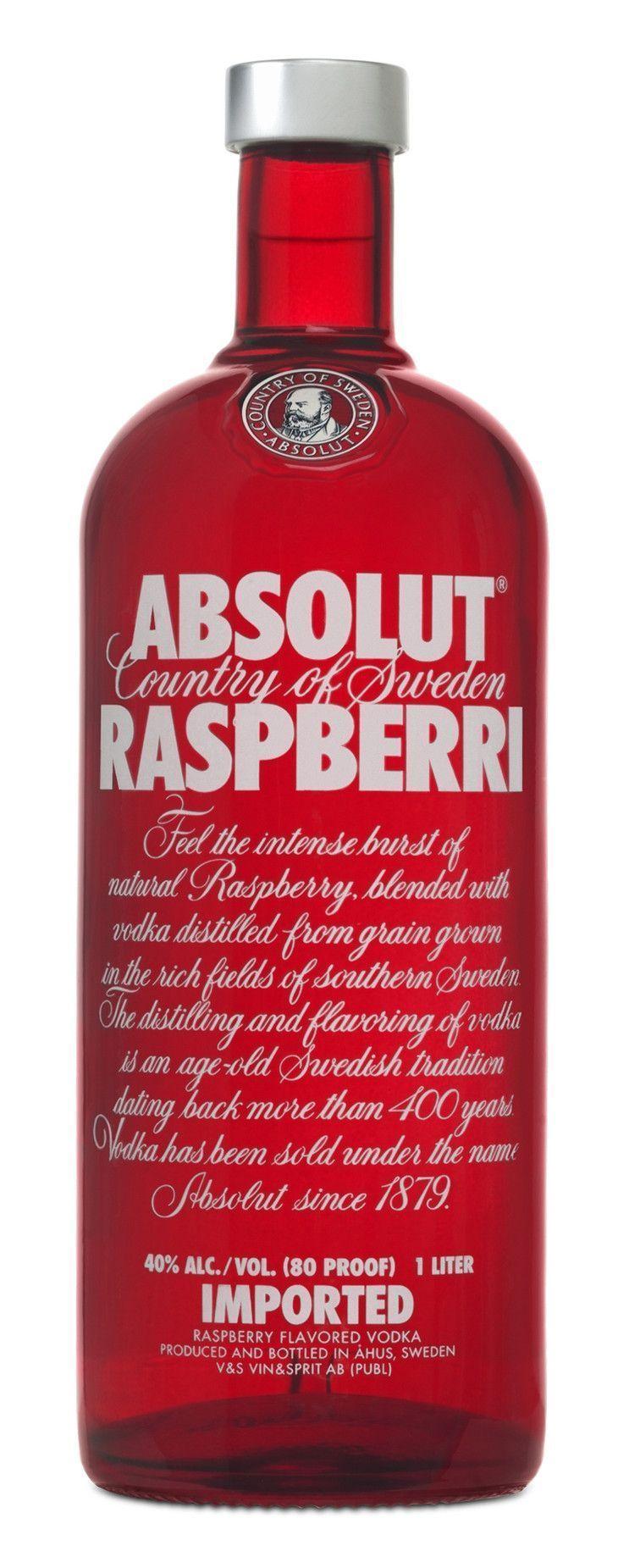 Absolut Raspberri Absolut Raspberri Novo Absolut Raspberri Absolut Raspberri New Vodka Absolut Absolut Vodka