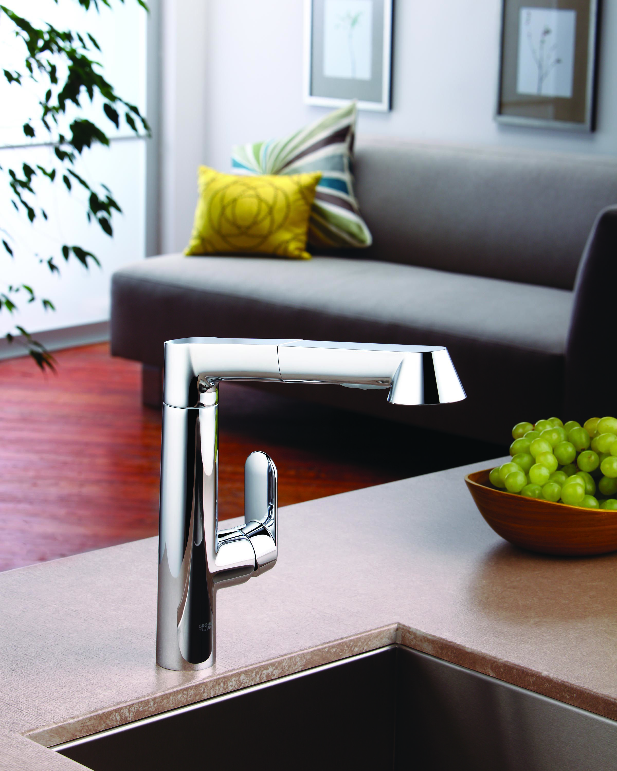 GROHE K7 Kitchen Faucet | GROHE KITCHEN INSPIRATION | Pinterest ...