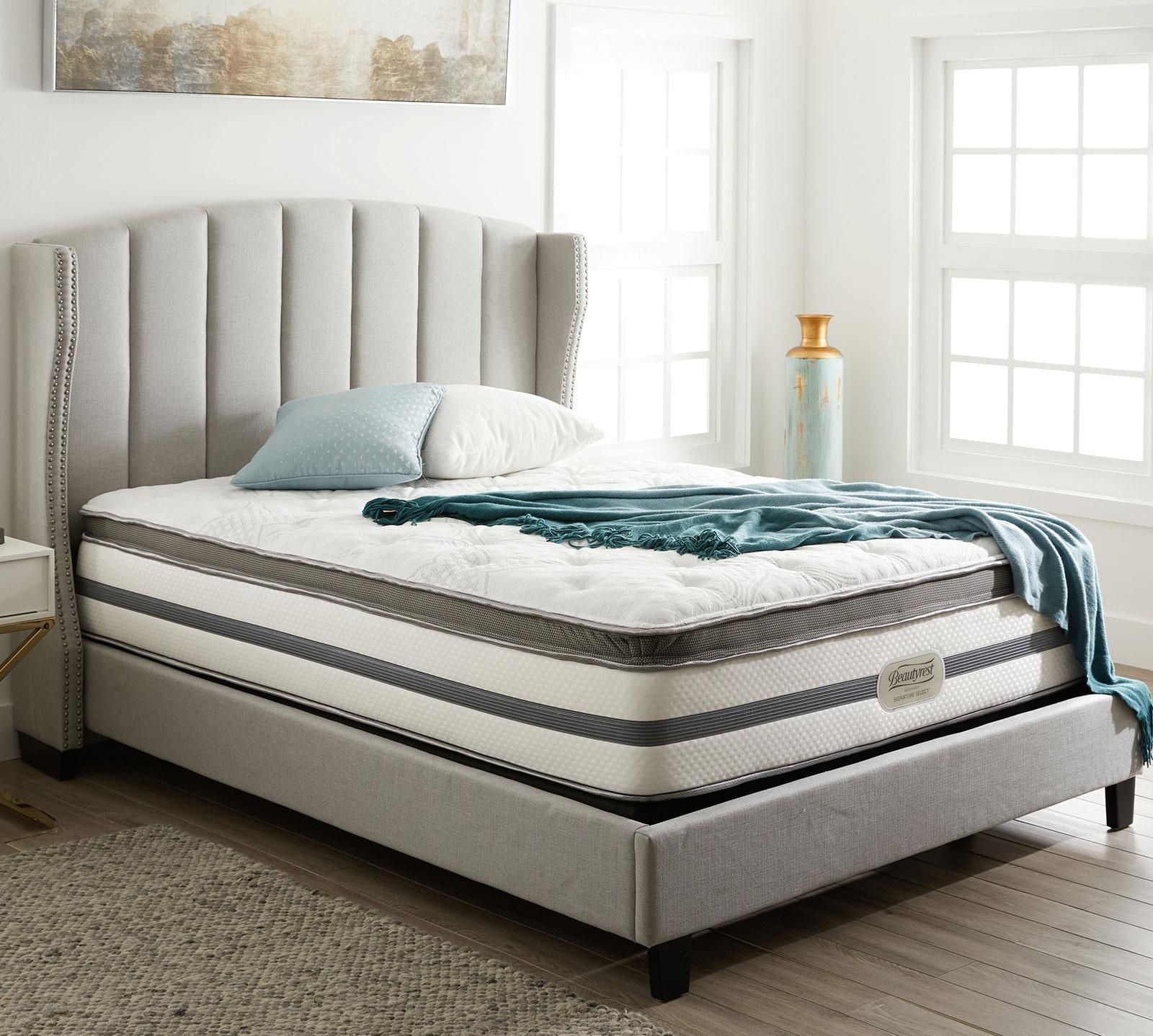 Shop For Your Simmons Beautyrest Recharge Bay Spring 14 Luxury Firm Pillow Top Mattress At Mattress Firm Th Bed Frame Sets Bed Frame Mattress Best Bed Sheets