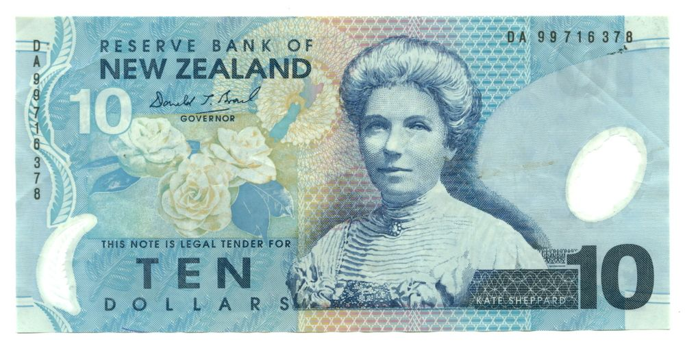 New Zealand Currency Dollar Nzd World