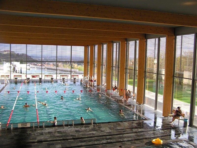 Kravi Hora Pool Brno Architecture Bath House Bath
