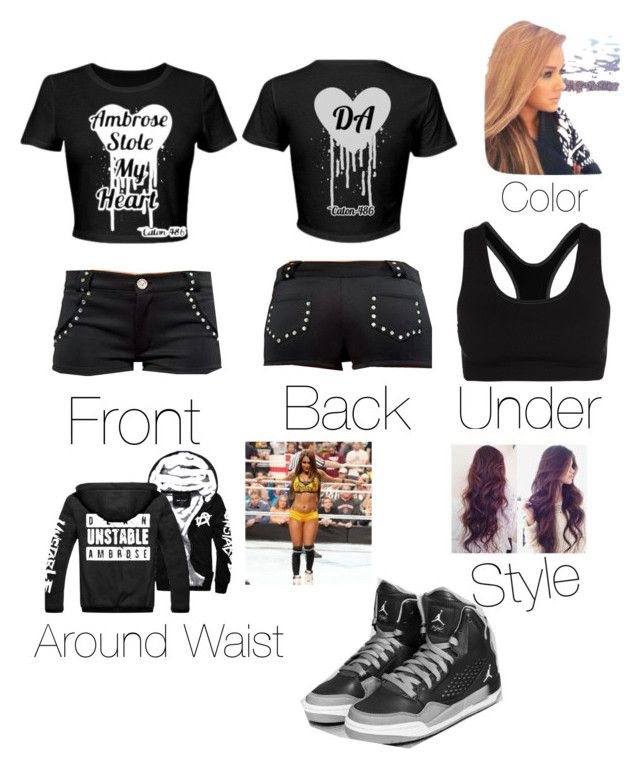 """""""Attire for BattleGround///AND YASS THE UNDERTAKER"""" by wwe-michele ❤ liked on Polyvore"""