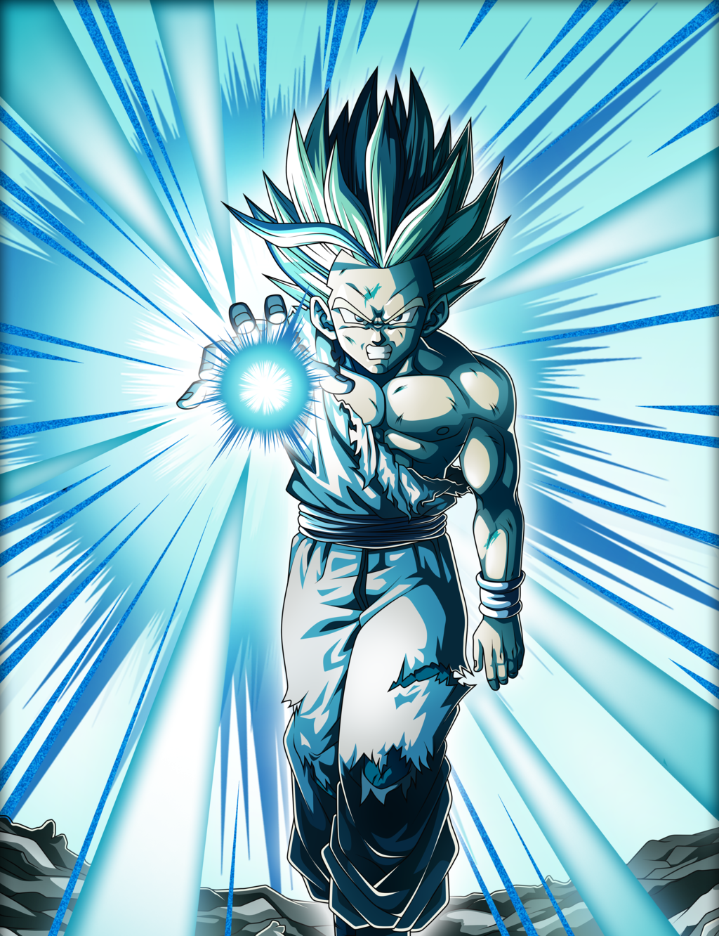 Gohan One Hand Kamehameha Dragon Ball Z Dragon Ball Wallpapers