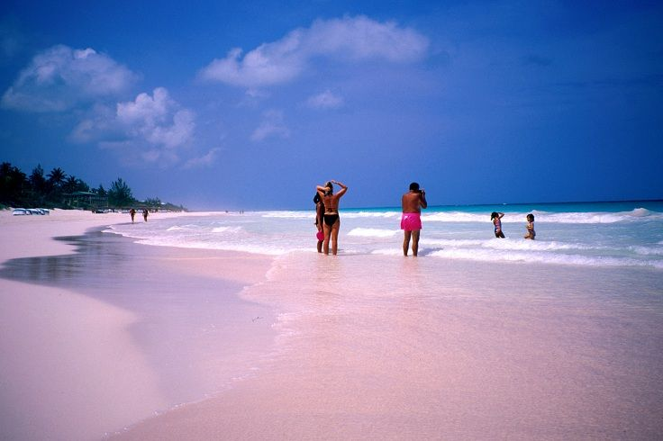 Pink Sands Beach Harbour Island Bahamas Top 10 Sand Colors Of The World