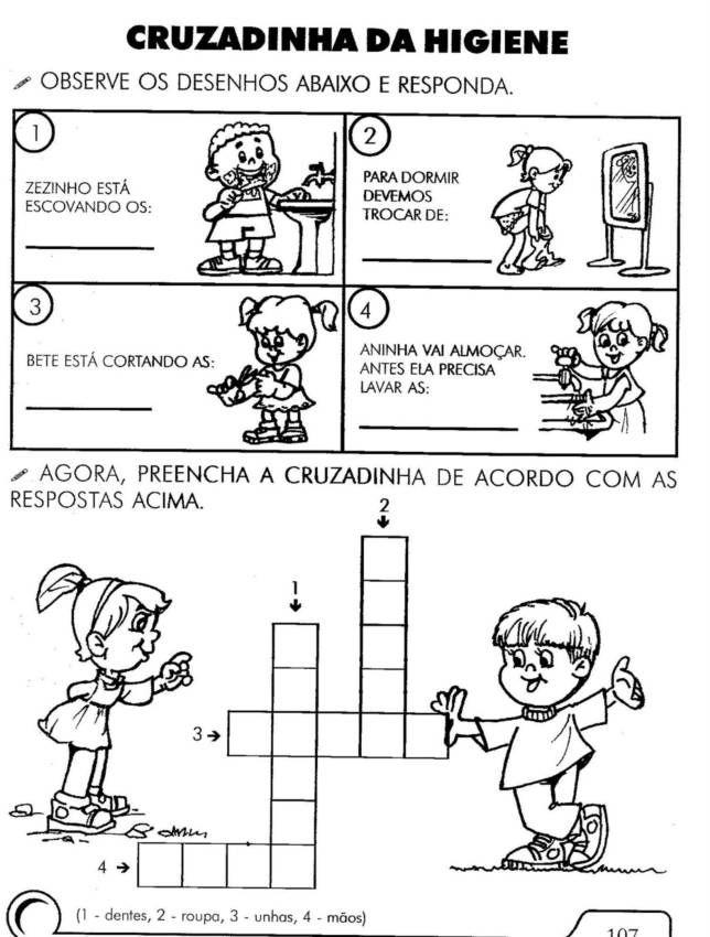 Famosos Atividades-para-educação-infantil-higiene-pessoal-2.jpg (644×850  FW93