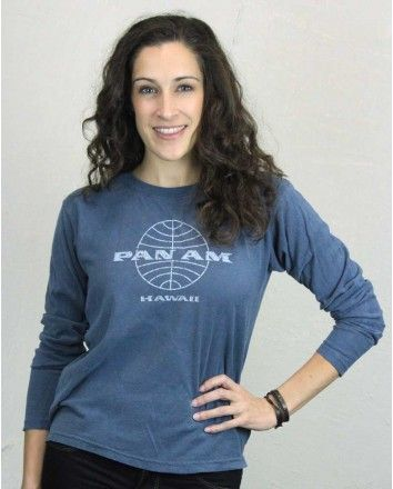 Offering luxury to both domestic and international travelers, Pan Am has left behind a legacy of comfort and sophistication that still resonates today. #PanAm #PanAmShirts #VintageShirts