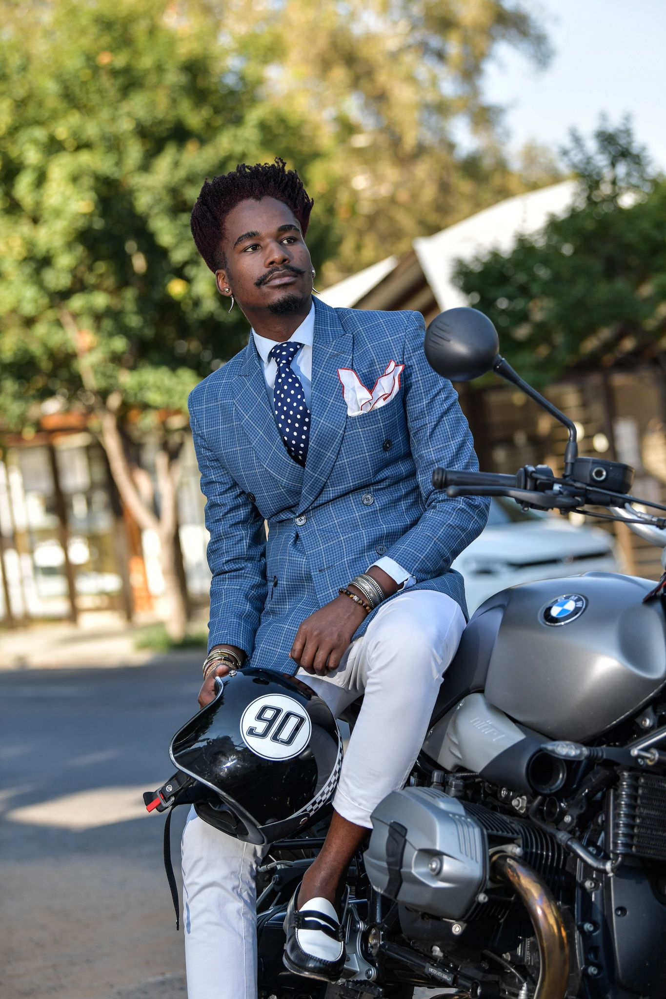 Mandla Duch Thabethe Project Inflamed fashion menus fashion