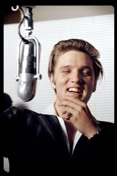 Elvis Presley Young Blonde When He Was Still Rockin Before