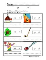 Amazing Blends – Fun Reading Worksheets for 2nd Grade – JumpStart