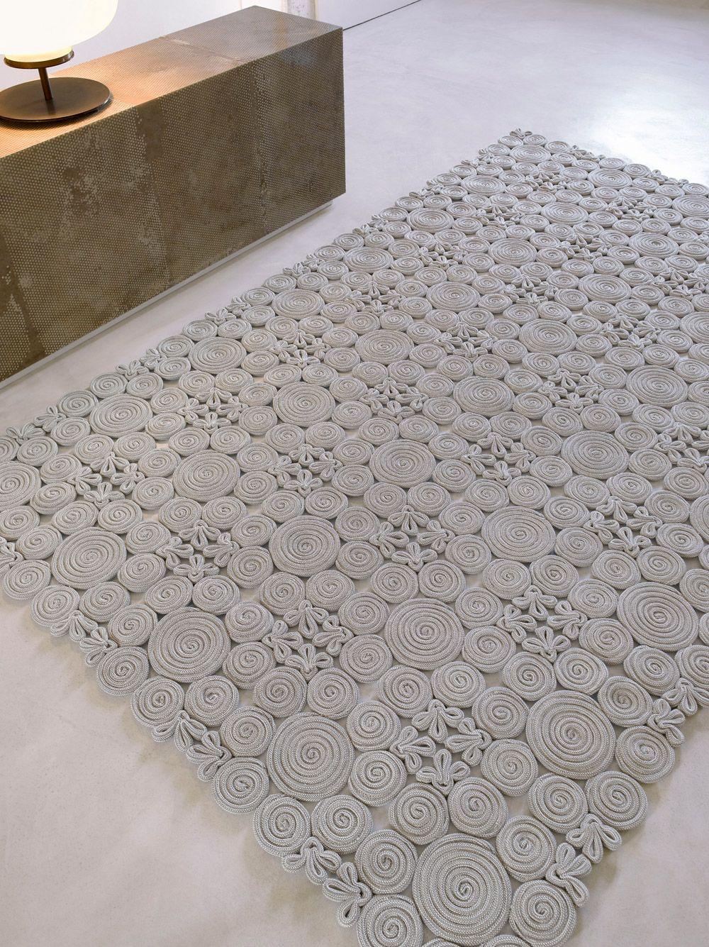 Spin - Paola Lenti | Rugs | Pinterest | Trapillo, Muster und Häkeln