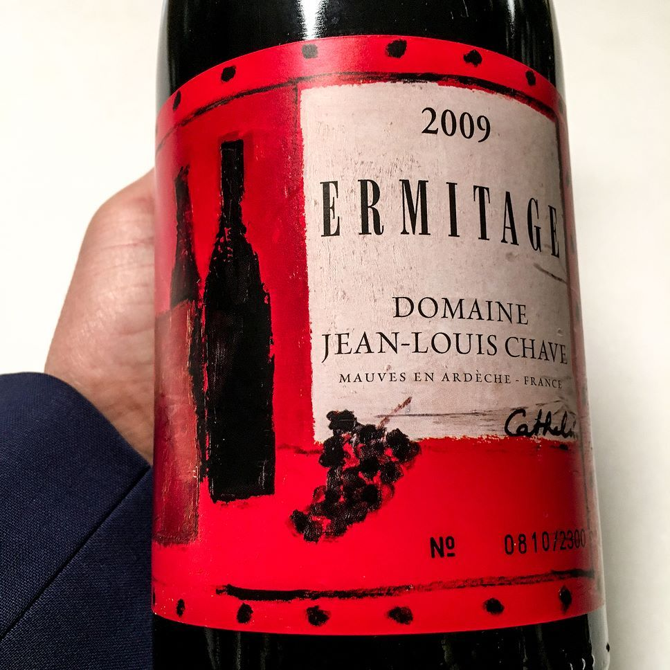 2009 Hermitage Cathelin Jean Louis Chave Rhone France Family Owned Since 1472 Jean Louis Today Runs This Eponymous Estate This Wines Wine Cookies Wine Tasting