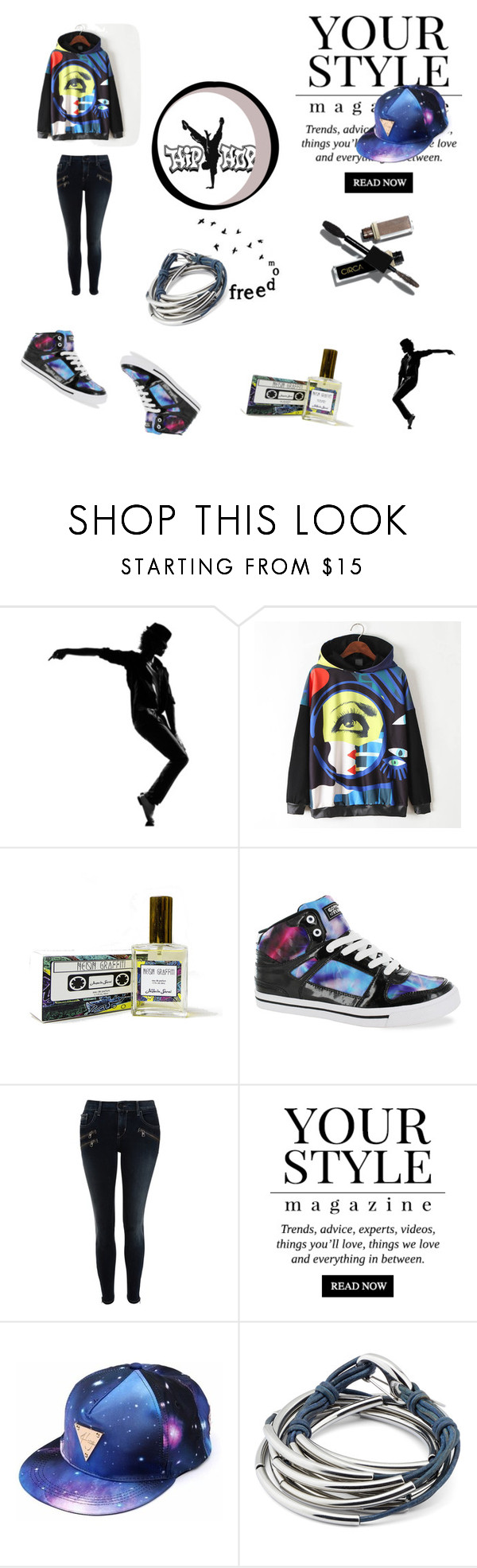 """""""That's Hip-Hop"""" by chloe1013 ❤ liked on Polyvore featuring WithChic, Gotta Flurt, Calvin Klein, Pussycat and Lizzy James"""