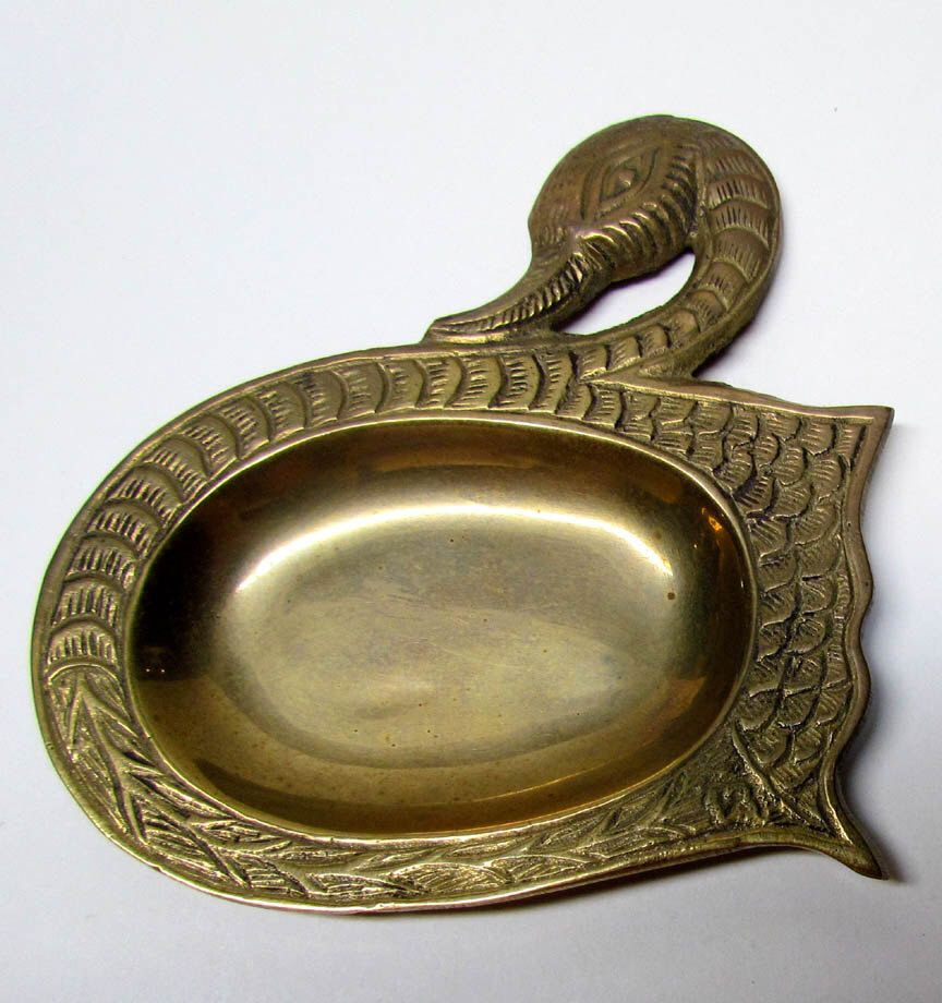 Collectable Vintage Brass Bird Soap Dish   Home Decor   Bathroom Decor, Made  In INDIA