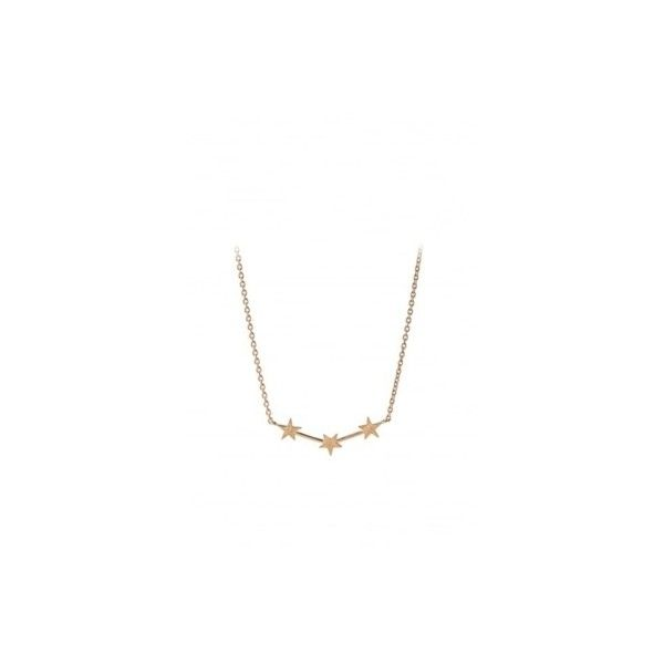 Pernille Corydon Alpha Necklace In Gold 455 DKK liked on