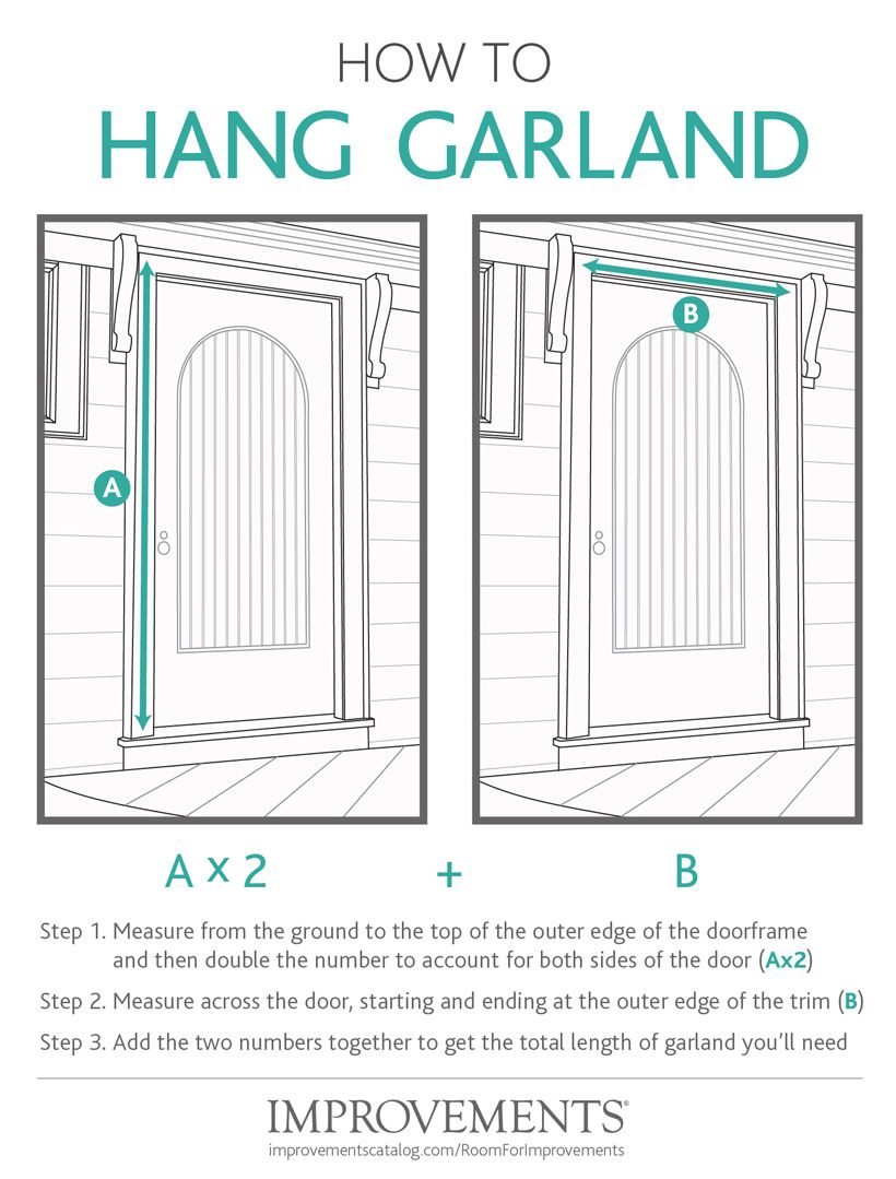 How To Hang Garland Unique Christmas Decorations Greenery Swags Rustic