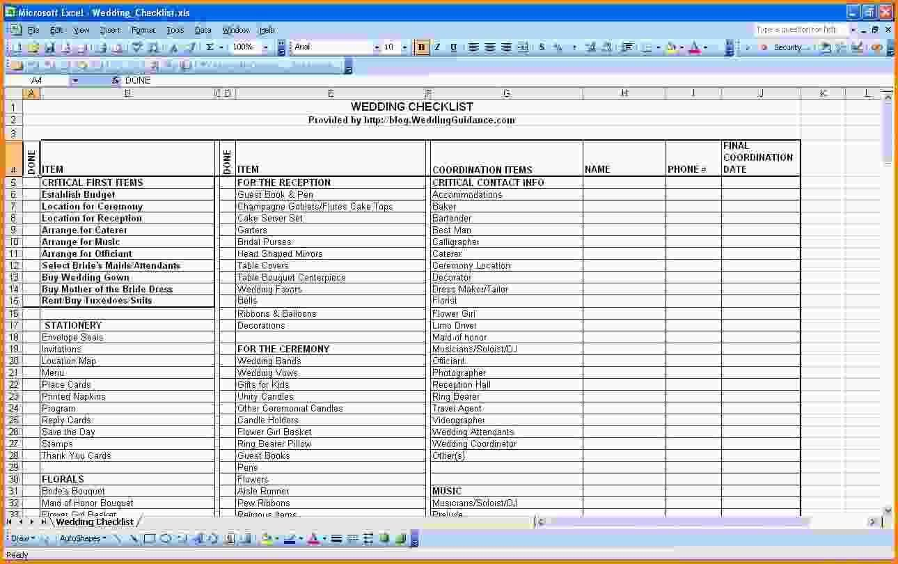 New Wedding Budget Checklist Pdf  Wedding Dress And Weddings
