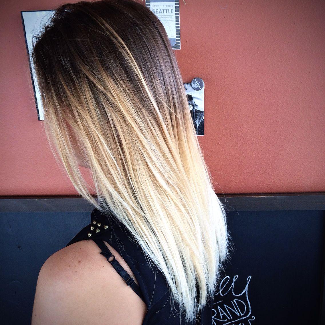 Ombré    Balayge with a long layered haircut #ombré #anton_thestylist @AntonSloboda #ombre #haircolor #hair #balayage #beautiful #stanparentesalons #antonsloboda #wella #oribe www.stanparantesalon.com