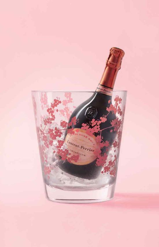 Laurent-Perrier Champagne. Just to keep up the pink...  ;)