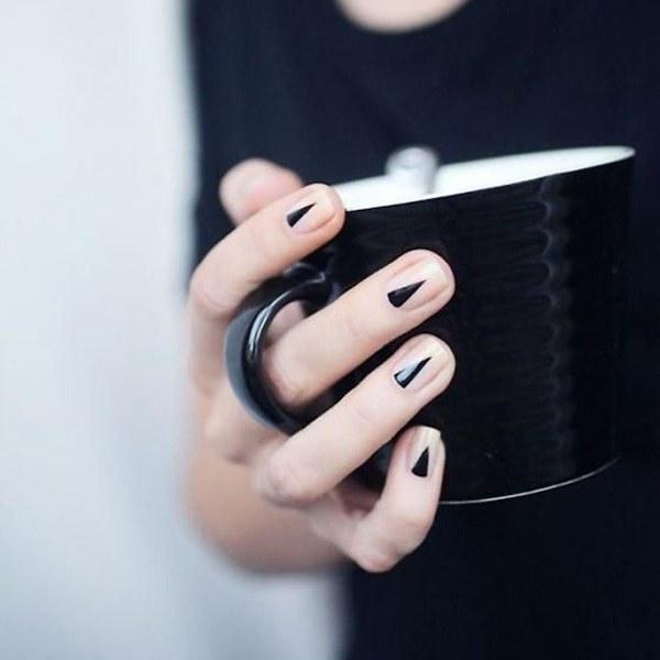 50 Of The Best Graphic Nail Art Ideas #koreannailart