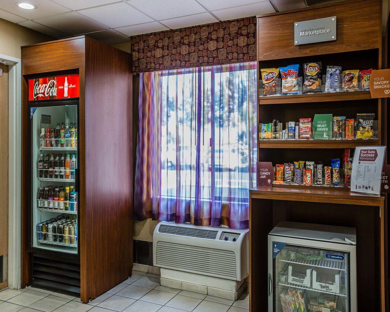 Vending Snack Machine In Lobby Marysville Ca Hotels Comfort