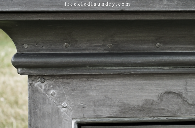Faux Zinc Painting It Is Simply A Matter Of Mixing 3 Shades Of Metallic Paint And And Just