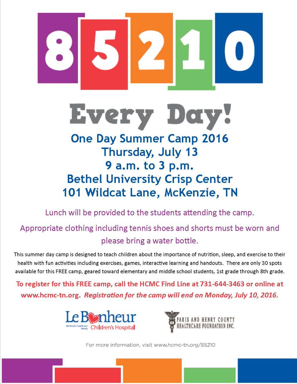 Twitter Elementary schools, Summer camp, Summer camp 2016