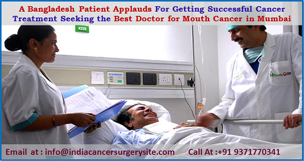 A Bangladesh Patient Applauds for getting successful cancer