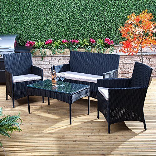 Alfresia Bordeaux Rattan Garden Furniture Set London Shopping Deals Contemporary Garden Furniture Rattan Garden Furniture Sets Teak Garden Furniture