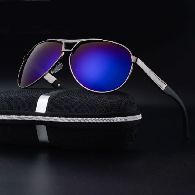Men s Mirrored Polarized UV400 Sunglasses Fishing Driving Glasses Sports  Eyewear 627c368f01