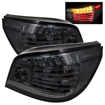 20042007 BMW E60 5Series LED Tail Lights Smoke Bmw