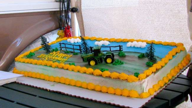 John Deere Birthday Cakes Walmart Cliff retired from John Deere