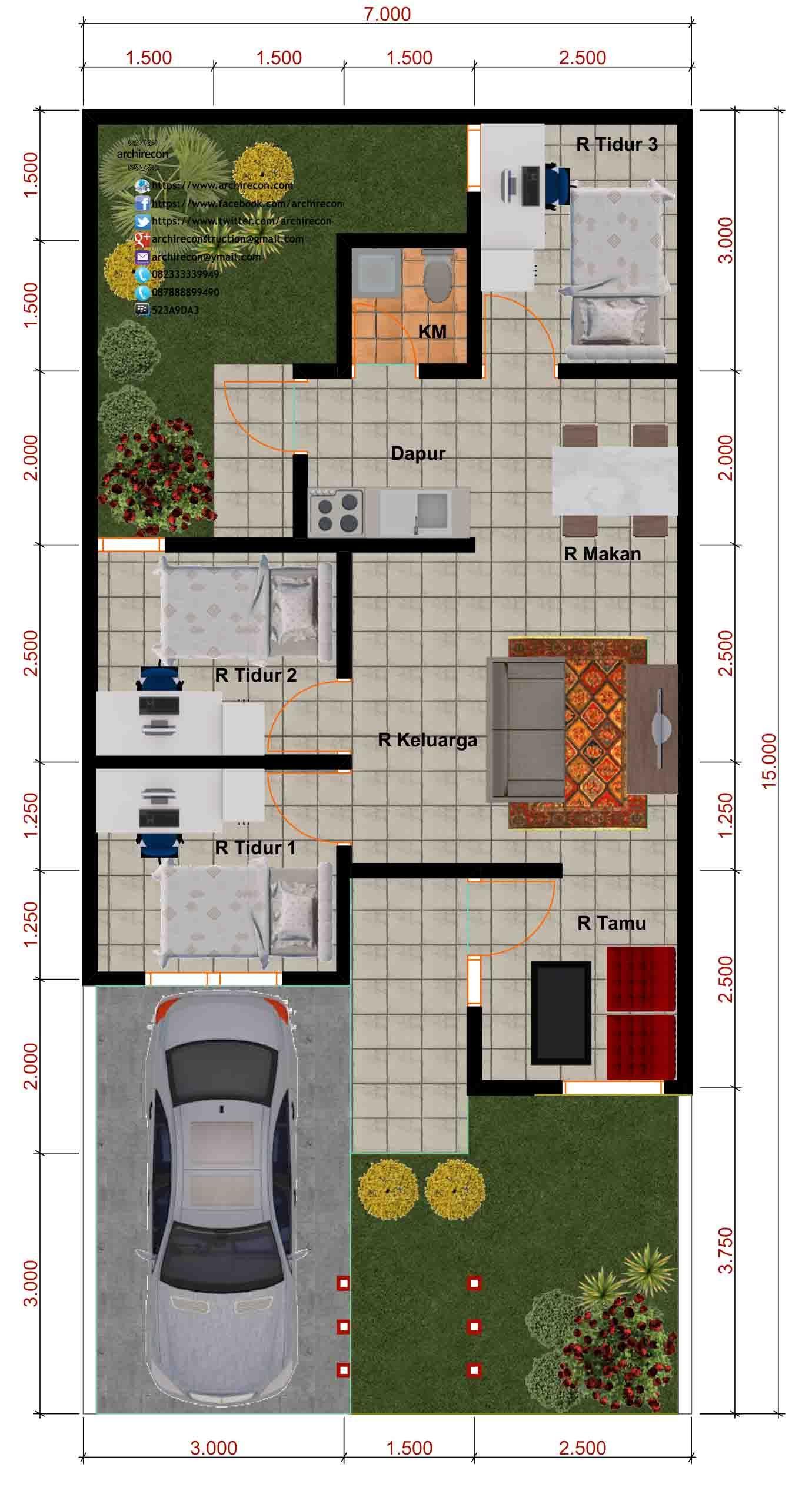 58 Foto Desain Rumah Kecil Perumahan Paling Keren Unduh