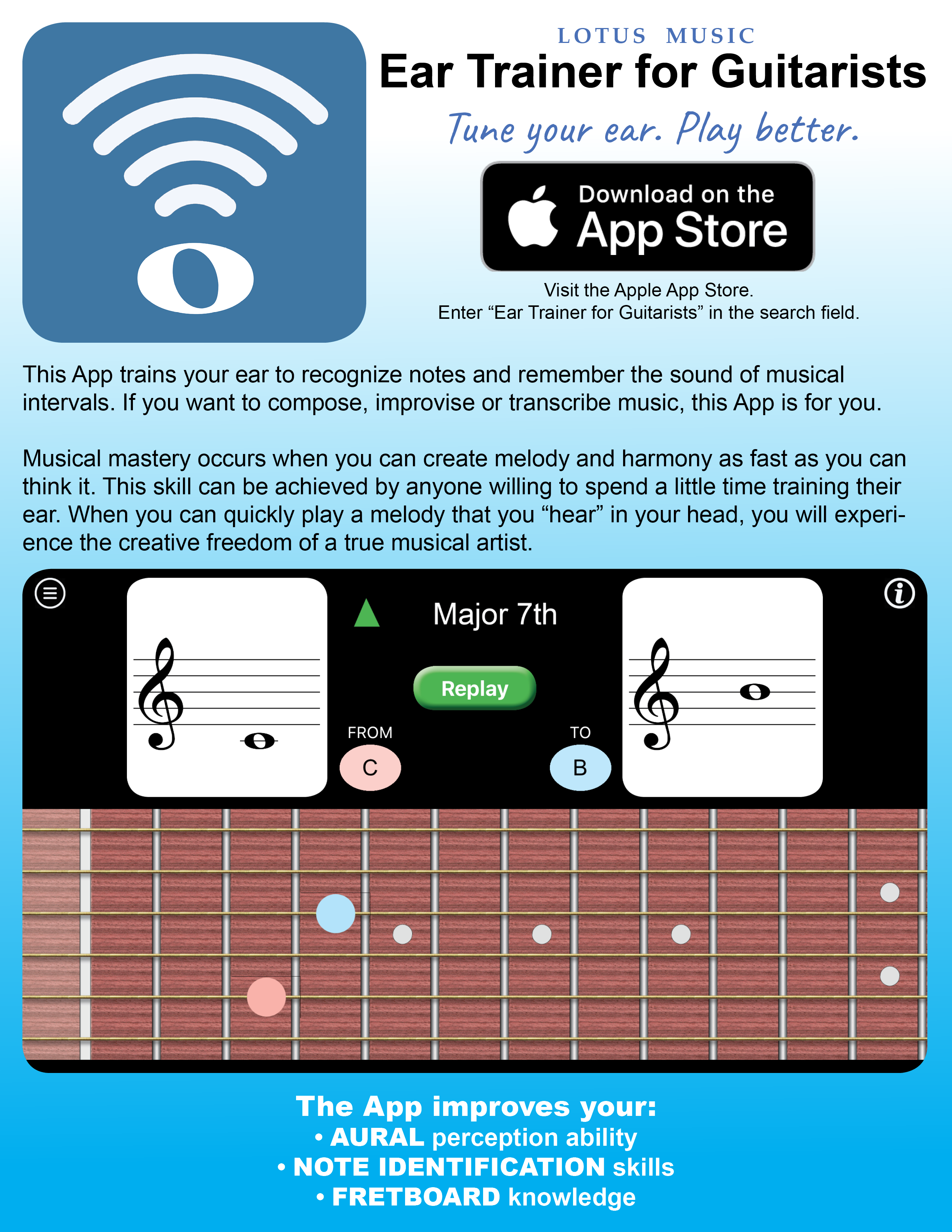 This new app trains the ear of any guitarist who wants to