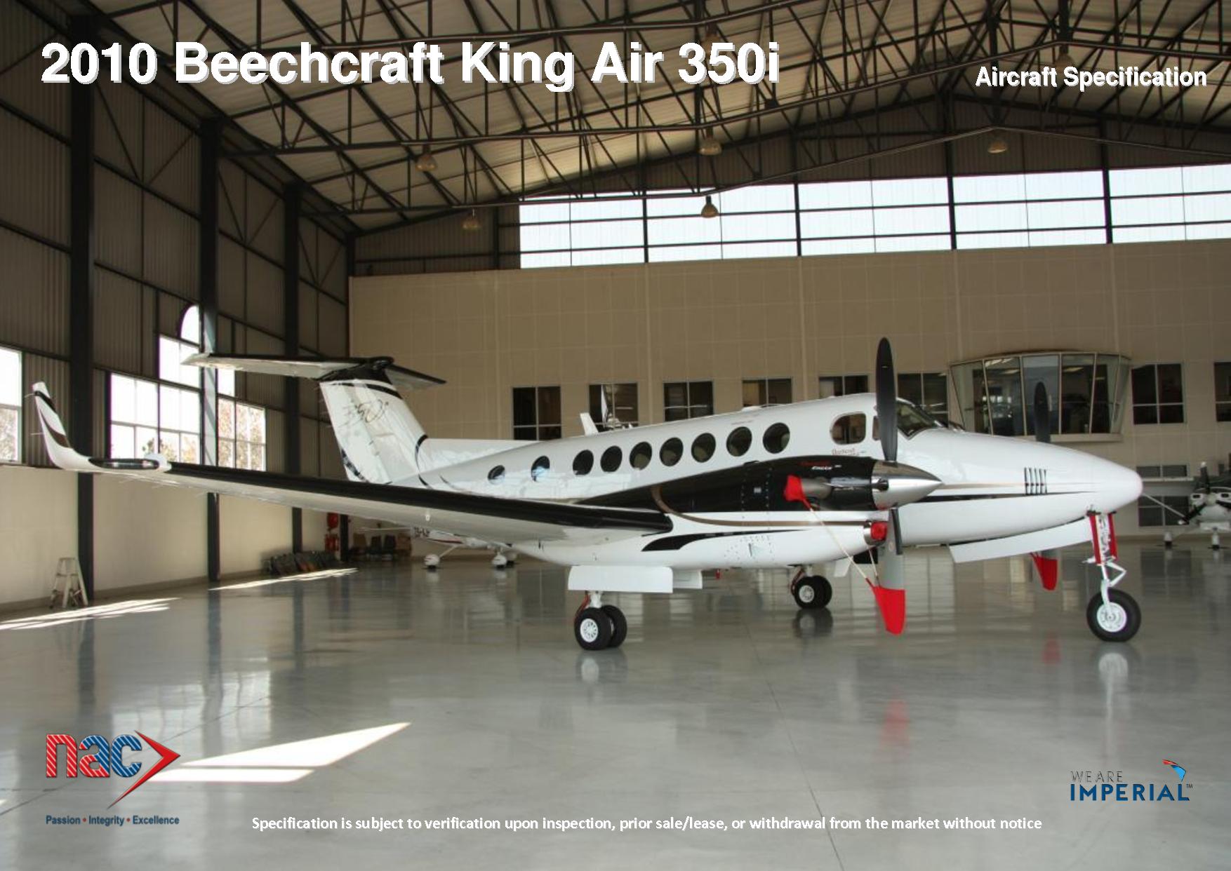 FL701 2010 Beechcraft King Air 350i General aviation