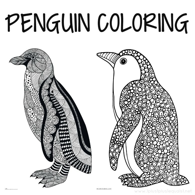 - Just Color! ~ Free Coloring Printables. Holidays, Seasons, Animals...lots  Of Themes! Penguin Coloring, Penguin Coloring Pages, Colouring Printables