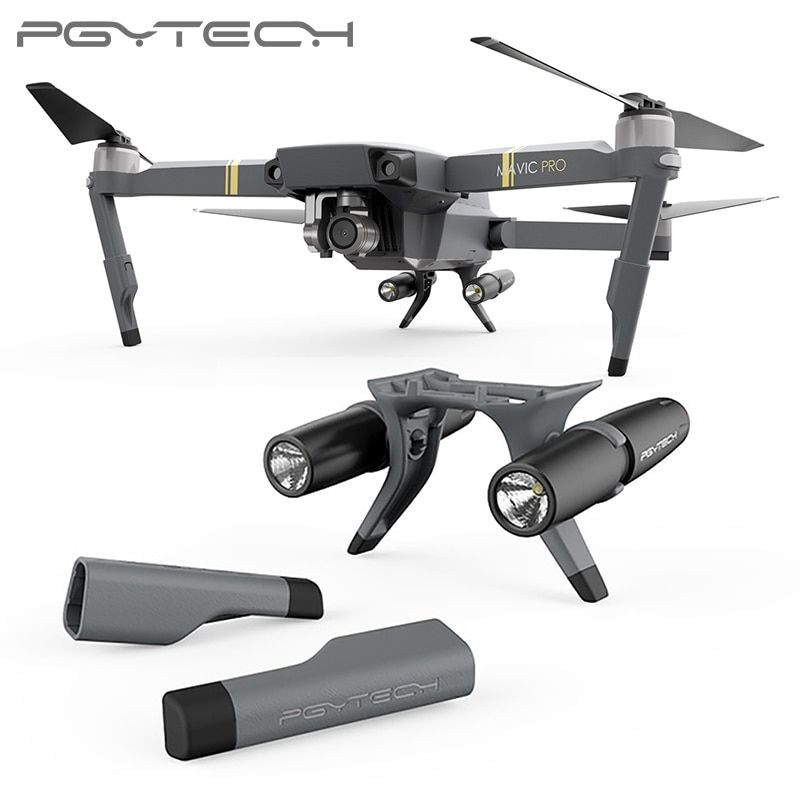 NOT Compatible Mavic 2 Series PGYTECH Mavic Pro Extended Landing Gear Leg Support Protector Extension Replacement ONLY Fit For DJI Mavic Pro drone Accessories