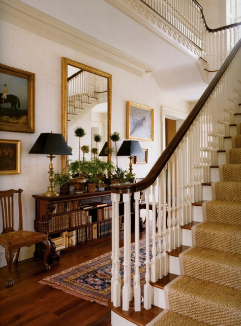 The Great American House Foyer Decorating Traditional House Decor