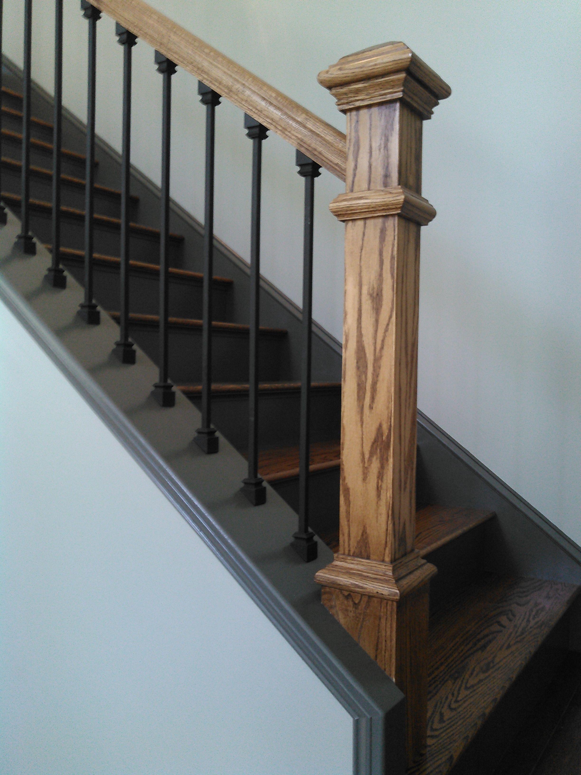 Best Gorgeous Staircase By Joe Brasslett In Hampden Me New 400 x 300