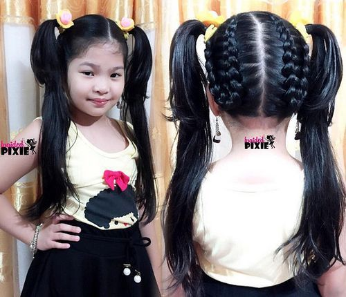 20 Amazing Braided Pigtail Styles For Girls Hair Styles Pigtail Hairstyles Kids Hairstyles