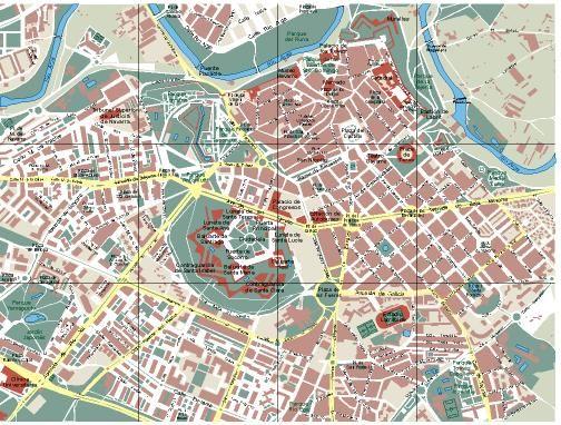 Mapa de Pamplona  foto
