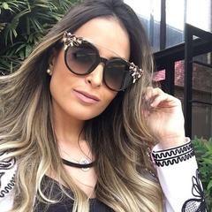 5b7743de35 Women s Cat Eye Luxury Diamond Sunglasses