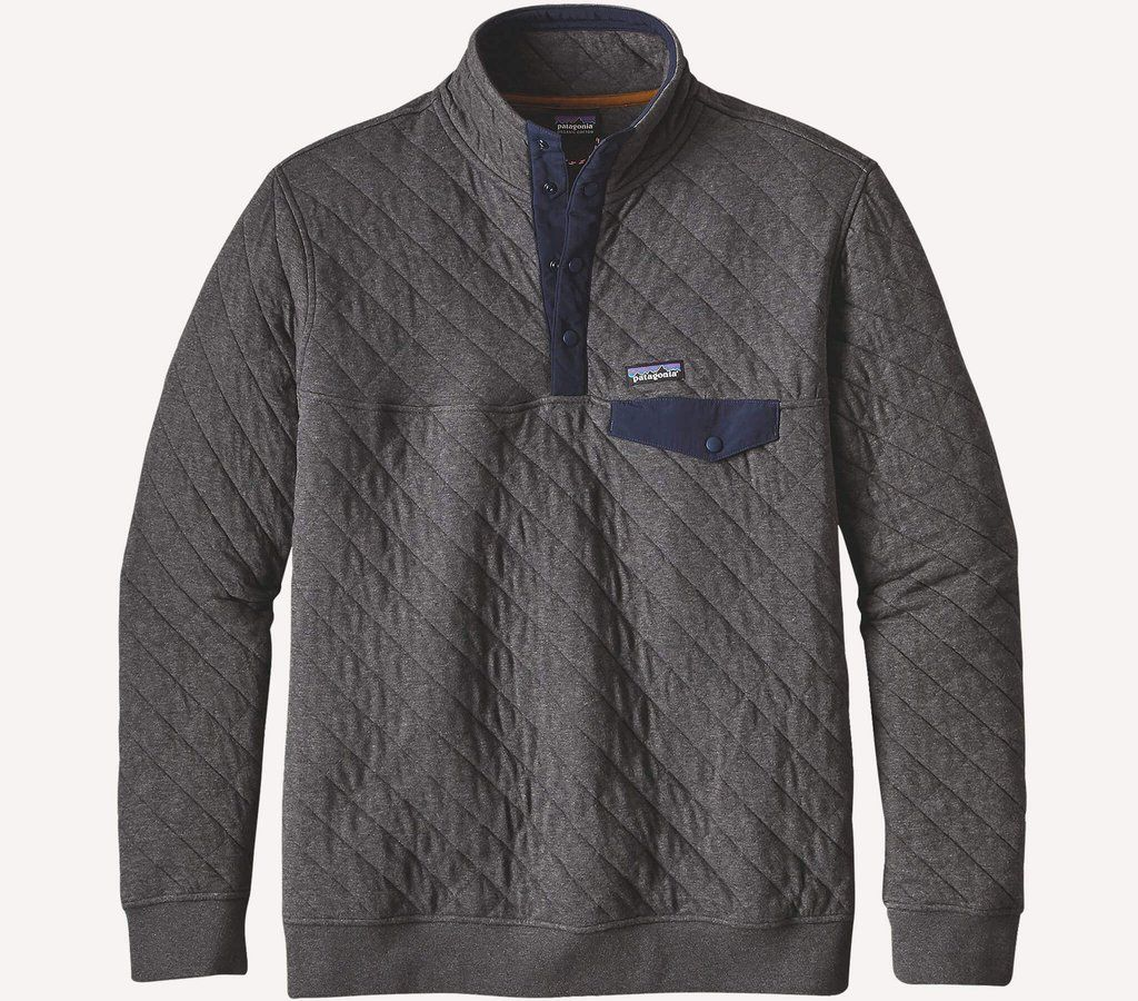 Patagonia Quilt Snap T Cotton Pullover Size L Pullover
