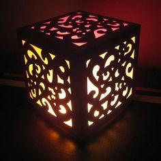 lampe ajourée diy carton - Recherche Google