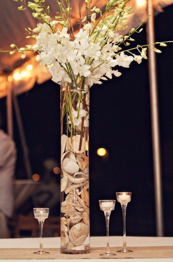 wanelo weddings weddings beach wedding centerpiece on wanelo rh pinterest com