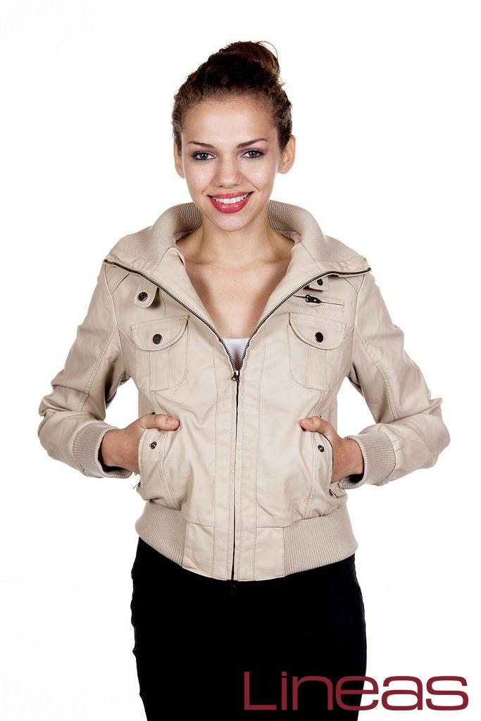 Chamarra, Modelo 19305. Precio $250 MXN  #Lineas #outfit #moda #tendencias #2014 #ropa #prendas #estilo #primavera #outfit #chamarra #promo