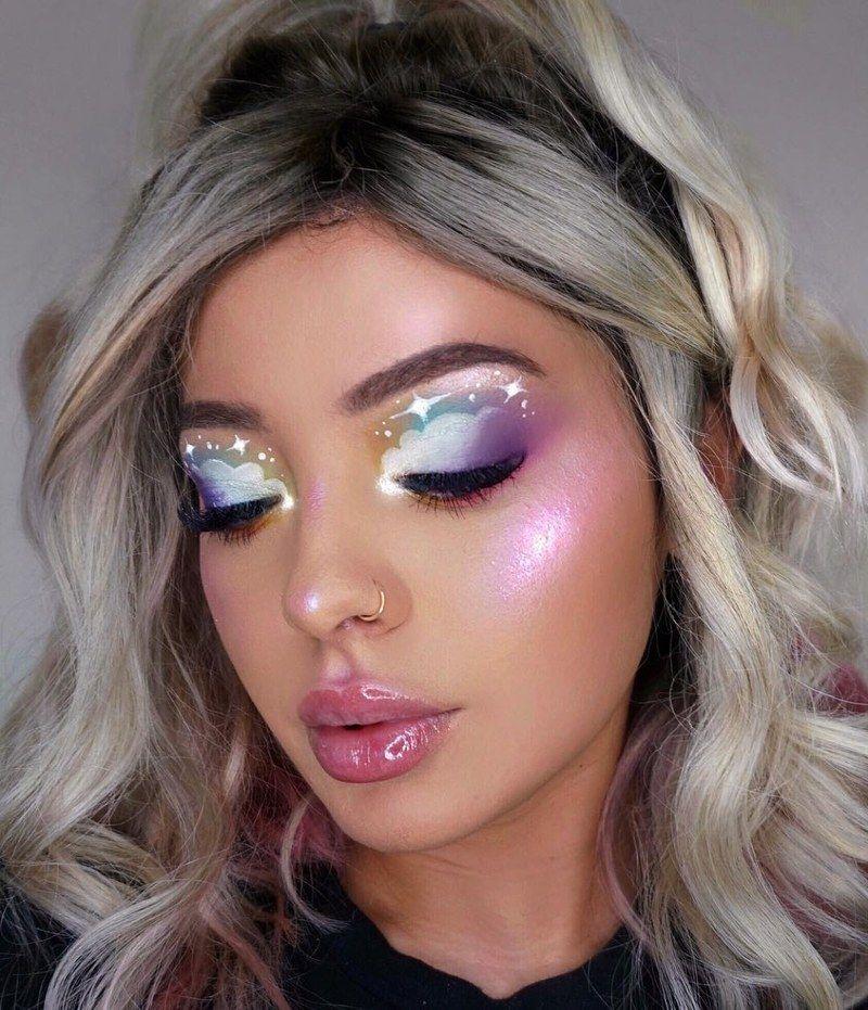 42 Cute Unicorn Makeup Ideas to Copy This Halloween