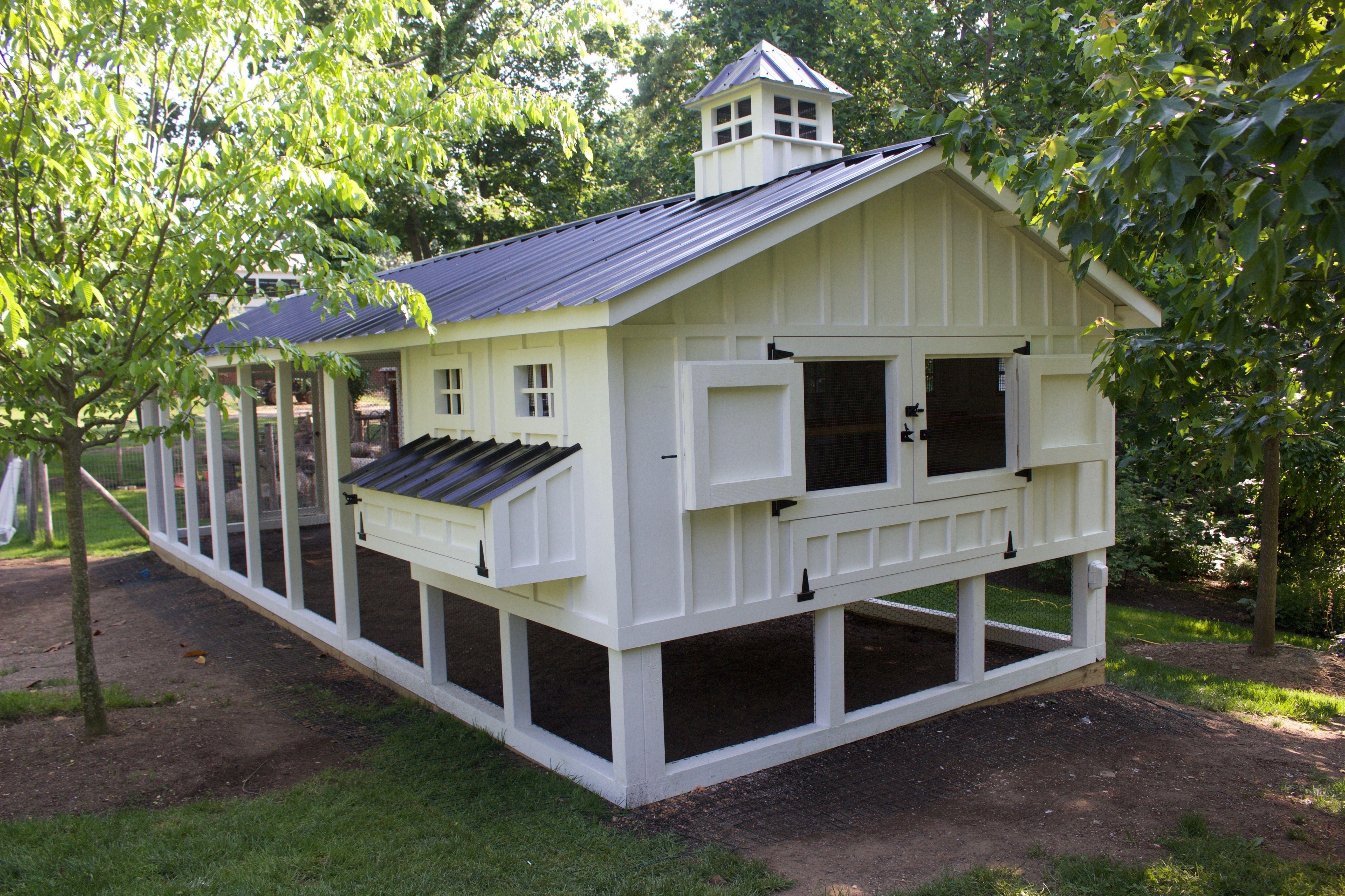 Custom Chicken Coop With The New Hen House Style Screen Doors Building A Chicken Coop Best Chicken Coop Chicken Coop